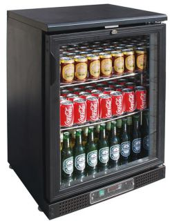 FED Black Magic One glass door Bar Fridge