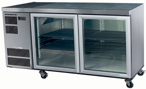 Skope Cc300 Two Glass Door Under Counter Fridge Practical Products P