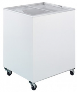 Bromic 191Lt Chest Freezer with Flat glass sliding Lids