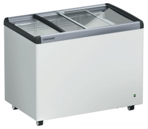 Liebherr 294Lt Chest Freezer with Flat sliding glass Lids