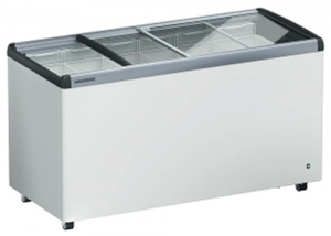 Liebherr 444Lt Chest Freezer with Flat sliding glass Lids