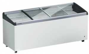 Liebherr 558Lt Chest Freezer with Curved sliding glass Lids