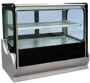 Anvil 900mm wide Square Glass refrigerated Countertop Display