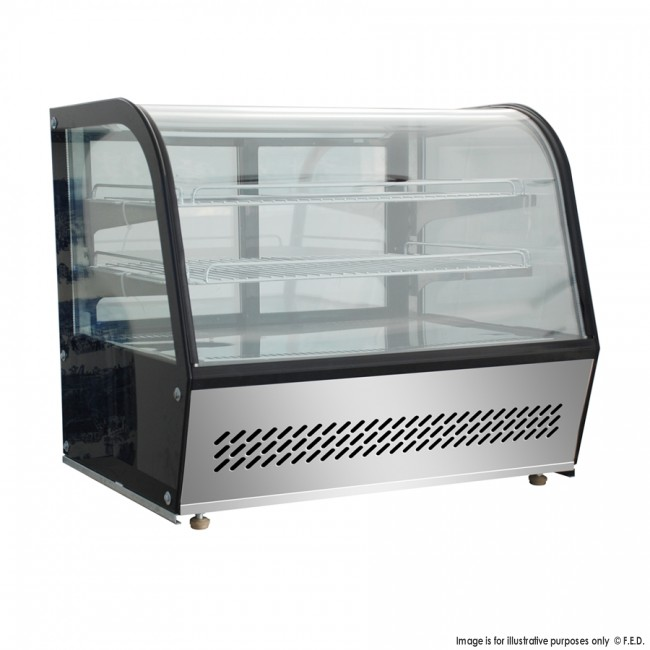 Bellevista 120 litre 3 level Refrigerated Counter top Display