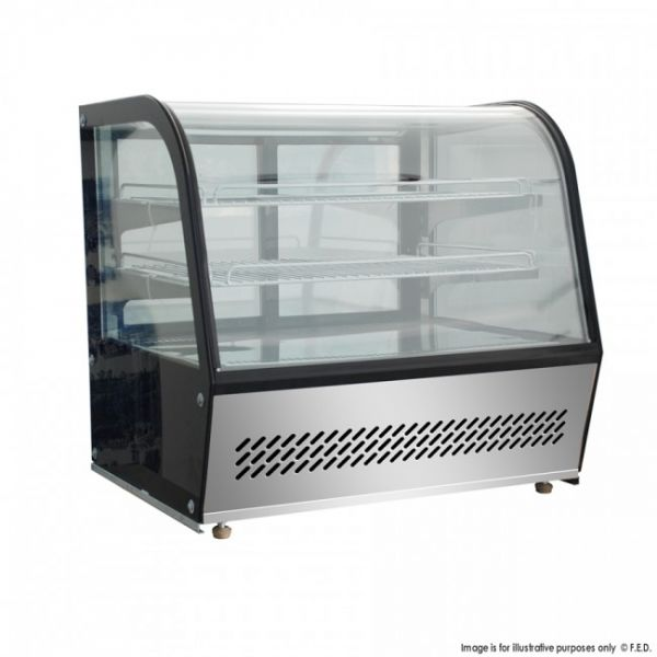 Bellevista 160 Litre 3 level Refrigerated Counter top Display