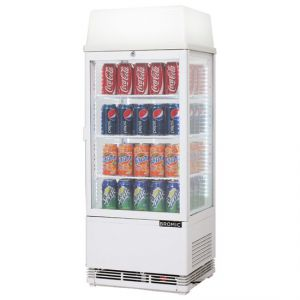 Bromic 78L Counter Top Chiller - Top Lightbox