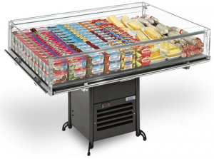 Eurocryor Classic Line Flat Deli Display 1250mm wide