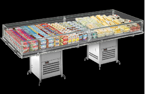 Eurocryor Classic Line Flat Deli Display 1020mm wide