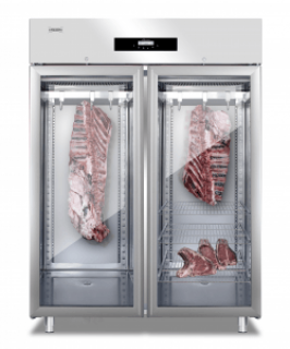 Everlasting Double Glass Door Dry Aging Cabinet