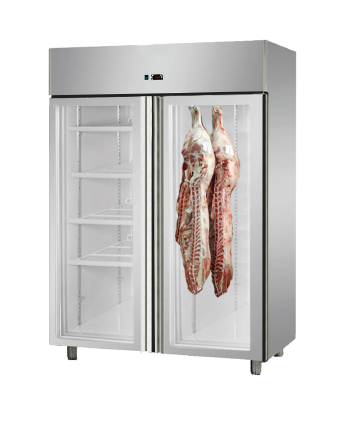 FED Dry Aging Fridge Cabinet With Double Glass Door MPA1410TNG