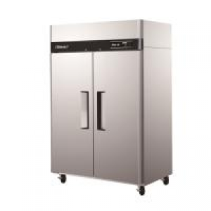 Turbo Air Double Solid Door Fridge Freezer Combo KRF45-2