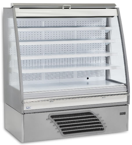 Bonnet Neve Curl 997mm wide LOW HEIGHT Open Serve Refrigerated Display