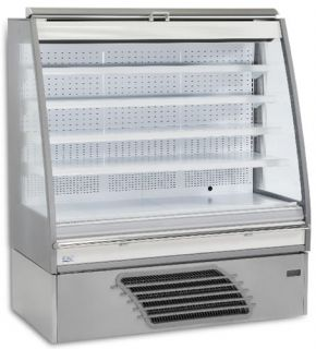 Bonnet Neve Curl 1310mm wide LOW HEIGHT Open Serve Refrigerated Display