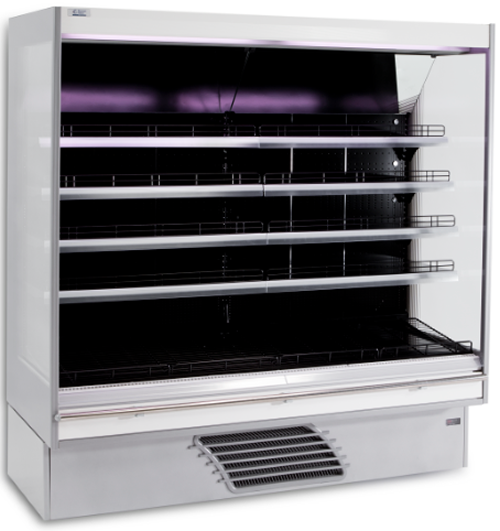 Bonnet Neve Onwave 997mm wide Open Serve Refrigerated Fruit & Vege Display