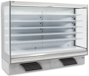 Bonnet Neve Onwave 1310mm wide Open Serve Refrigerated Display
