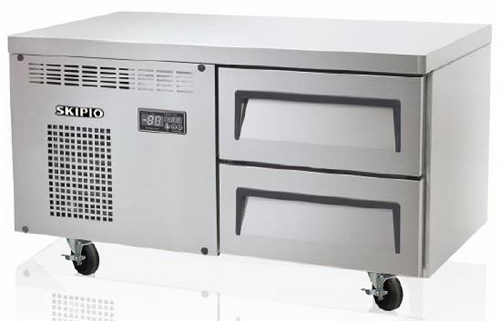 Skipio Refrigerated Base 2 Drawers 900mm Wide Practical Products Per