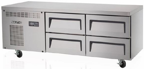 Skipio Refrigerated Base 4 Drawers 1400mm Wide SCB-14-4
