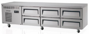 Skipio Refrigerated Base 6 Drawers 1820mm Wide SCB-18-6