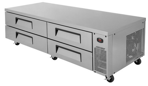 Turbo Air Refrigerated Base 4 Drawers 2125mm Wide