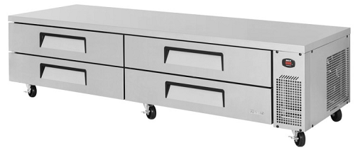 Turbo Air Refrigerated Base 4 Drawers 2449mm Wide