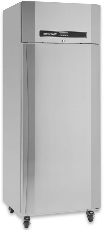 Cyberchill Single solid door GN 600Lt vertical Freezer