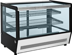 Bellevista 878mm wide 3 level Square glass Display