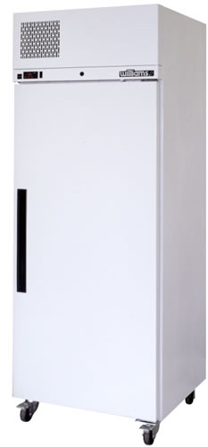 Williams Diamond Star single Solid Door Upright Freezer