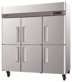 Turbo Air 6 Half Solid Door Upright freezer CM3F72-6