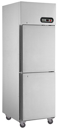 Thermaster 2 Half Solid Door Vertical Fridge