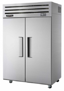 Skipio two solid door Duel temp upright Fridge/Freezer Combo