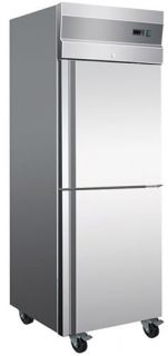 Thermaster Tropicalised 2 Half Door Vertical Fridge
