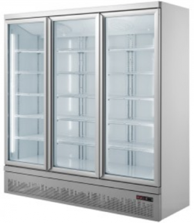 Thermaster triple Glass Door Colourbond Fridge LG-1500GBM