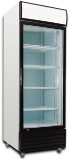 Saltas Single Glass Door Upright Display Fridge