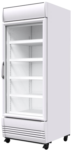 Sanden Single Glass Door Fridge 600Lt
