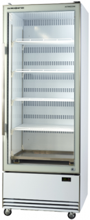 Skope BME600-A Active Core Glass Single Door Vertical Fridge