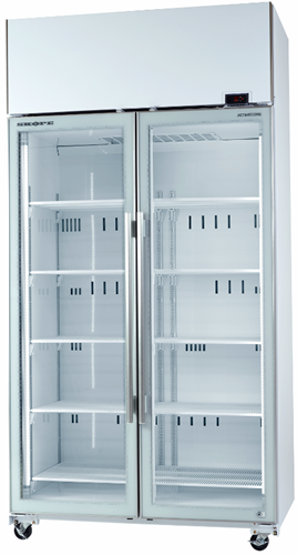 Skope TME1000-A Active Core 2 Glass Door Vertical Fridge