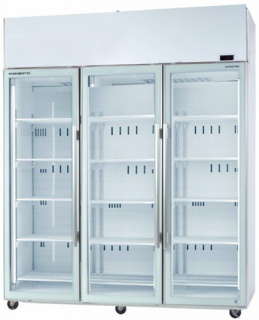 Skope TME 1500N-A 3 Glass Door Vertical Fridge with Active core technology
