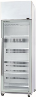 Skope TME650-A Active Core Glass Single Door Vertical Fridge