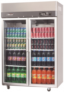 Turbo Air Double Glass Door Fridge KR45-2G