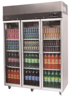 Turbo Air Triple Glass Door Fridge KR65-3G
