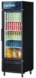 Turbo Air Triple Glass Door Fridge TGM-23SD Black