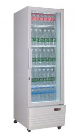 Thermaster Single Glass Door Colourbond Fridge LG-220GE