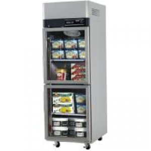 Turbo Air 2 X Half Glass Doors Freezer KF25-2G