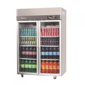 Turbo Air Double Glass Doors Freezer KF45-2G