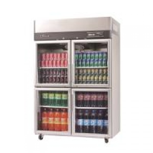 Turbo Air 4 X Half Glass Doors Freezer KF45-4G