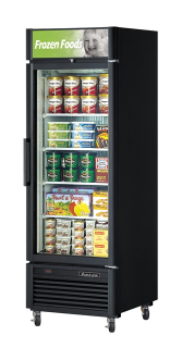 Turbo Air Single Glass Door Freezer TGF-23SD Black