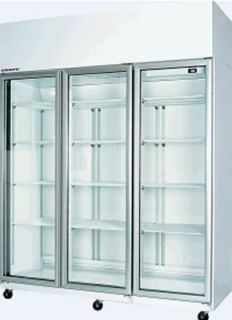 Skope TME 1500 3 Glass Door Vertical Fridge