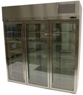 Williams Pearl Star 3 Glass Door Fridge
