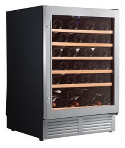 Thermaster single glass door Wine Fridge bench Top Model